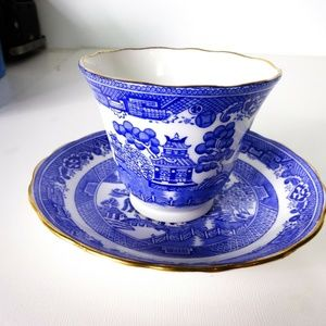 Colclough Bone China Tea Cup/Saucer Asian Scene